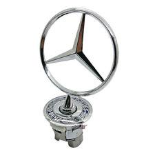 Stern Motorhaube Emblem für Mercedes-Benz W202 W203 W210 W211 W220 Silber G1