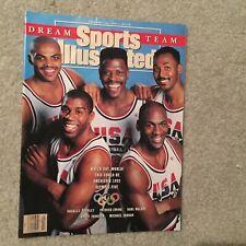 1991 Sports Illustrated Michael Jordan Dream Team No Label