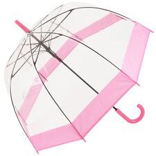 Soake Clear Dome Umbrella - Pink