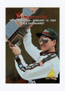 Dale Earnhardt 1995 Zenith Winston Winners Gold Foil Insert Card Pinnacle #24
