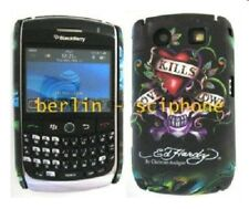 Blackberry 8900 Curve ED HARDY LKS Bag Hard Case Protective Cover sleeve foil OVP