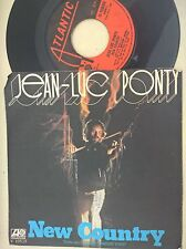 DISCO 45 GIRI JEAN LUC PONTY - NEW COUNTRY / RENAISSANCE - ATLANTIC 1976 VG/VG
