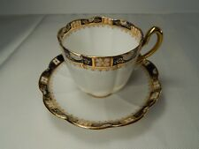 Antique William Lowe Longton Tea Cup and Saucer. Circa 1874-1912. W.L.L England
