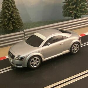 Scalextric 1:32 Car - C2506 Grey / Silver Audi TT #K