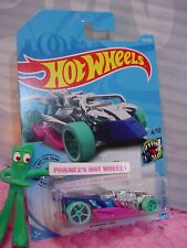 DRAGGIN' TAIL #191✰chrome/blue/pink;☆STREET BEASTS✰2019 i Hot Wheels case Q/A