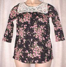 Papaya Waist Length 3/4 Sleeve Tops & Shirts for Women