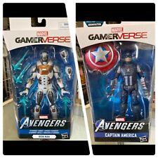 marvel legends gamer verse Iron Man Starboost Armor Captain America Hasbro Lot