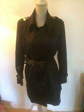 manteau/trench femme taille 42 noir