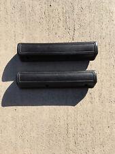 MOPAR BLACK (100) B C Body Chrysler Dodge Plymouth 13 Inch  Arm Rest Pads