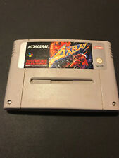 Axelay Super Nintendo SNES PAL ESPAÑOL