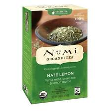 Numi Organic Green Tea - Maté Lemon - Fair Trade