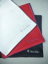 3 BROOKS BROTHERS Pocket Square Handkerchief 100% Silk NWOT $165 New