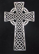 Celtic Pewter Wall Cross Religious Gift Christian