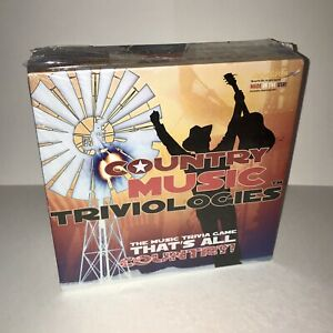 Country Music Triviologies Trivia Board Game USA Brand New Factory Sealed NIB