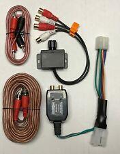 Toyota Lexus Scion Factory Oem Radio Add A Sub Amp Amplifier Plug & Play Harness (Fits: Scion)