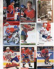 9-saku koivu all montreal canadiens card lot #1 nice mix