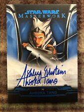 2019 Topps Star Wars Masterwork Autograph Ashley Eckstein as Ahsoka Tano #06/99