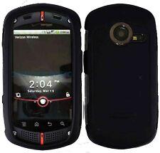 Rubberized Hard Case for Casio G'zOne Commando C771- Black