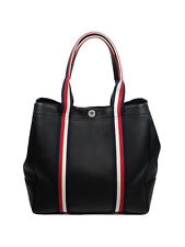 Mulberry City Tote, in Black Heavy Grain and Webbing Large Bag