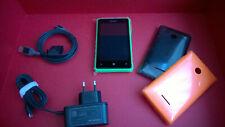 """Microsoft Lumia 532 nuevo """"unlocked"""" con carcasa verde 3D y otras 2 de regalo"""
