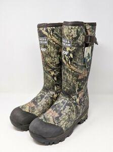 Field & Stream Swamp Tracker 400g Insulation Waterproof Rubber Camo Hunting Boot