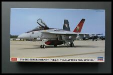 Hasegawa 1/72 F/A-18E SUPER HORNET 'VFA-31 TOMCATTERS 75TH SPECIAL' Model Kit