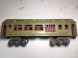 lionel prewar standard gauge passenger cars #419 Apple Green