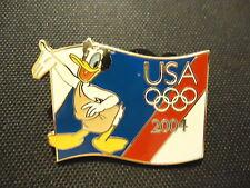 DISNEY USA 2004 OLYMPIC STARTER DONALD DUCK PIN