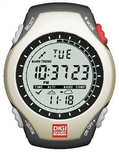 Digi Sports DT630 Altimeter Compass Watch for Health, Fitness & Sports Performan
