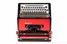 OLIVETTI DORA aka Lettera 31- black&red portable typewriter - rare typewriter