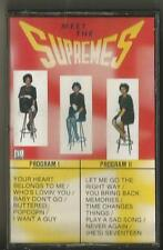 Cassette Tape The Supremes Meet The Supremes