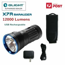 Olight X7R Marauder 12000 lm rechargeable CREE LED hunting Torch/ Searchlight