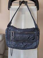 Stella McCartney LeSportsac Carryall Bag Gray Graphite Floral Shoulder Bag NWOT