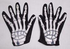 Halloween Skeleton Rubber Hands Gloves Creepy Prop Fun World Div.