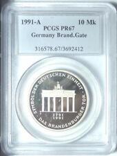 Sehr schöne 10 DM Gedenkmünzen der BRD