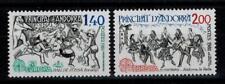 "(b6)  timbres d'Andorre Français n° 292/293 neufs** année 1981 ""europa"""