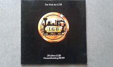 "LGB ""20 Years of the World of LGB"" 88/89 Illustrated Catalog German Edition ~ TS"