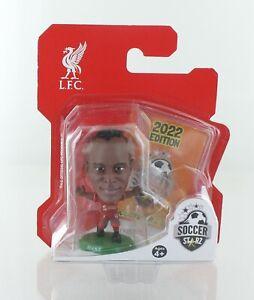 Sadio Mane Liverpool SoccerStarZ 2022 MicroStars Green Base Blister