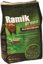RAMIK  116339 4 LB BAG NUGGETS GREEN RAT RODENT BAIT POISON