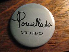 Pomellato Pocket Mirror - Repurposed Magazine Nudo Rings Logo Ad Lipstick Mirror