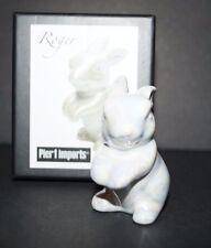 Pier 1 Imports Bunny Glass Figurine Roger