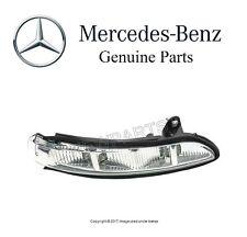 NEW Mercedes W211 W216 CL500 Right In Mirror Housing Turn Signal Light Genuine