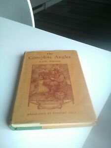 - The Complete Angler IZAAK WALTON 1945 edition