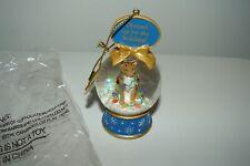Danbury Mint Cat Christmas Lights Miniature Snow Globe Figurine Ornament