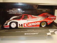 "Minichamps: Porsche 956K Canon Racing ""1000km Nürburgr."" (155836614), super !!!"