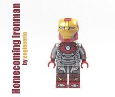 LEGO Custom - Iron man Homecoming - Marvel Super heroes mini figure Spiderman