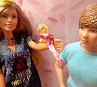 Barbie Kelly Krissy OOAK Polymer Doll Accessories *Micro Mini Baby Doll Binkie*