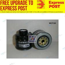 Wesfil Fuel Filter WCF103 fits Mitsubishi Triton 2.5Di-D 2WD,2.5Di-D 4x4,3.2