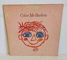 Barbra Streisand Color Me Barbra Columbia Records CS 9278
