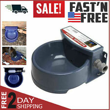New listing Automatic Pet Waterer Outdoor Water Dispenser Auto Dog & Cat Bowl Dish Supplies